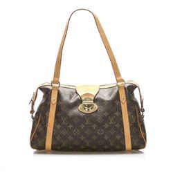 Brown Louis Vuitton Monogram Stresa PM Bag
