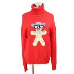 Moschino Red Wool Sweater Sz 6