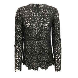 Valentino Lace Black Top
