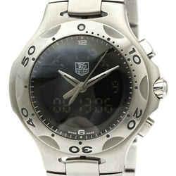 Polished TAG HEUER Kirium Formula 1 Chronograph Quartz Watch CL111A BF535049