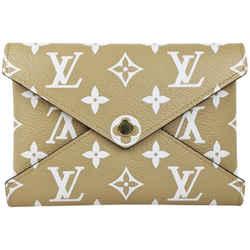 Louis Vuitton Giant Monogram Tan Medium Kirigami Pochette Wallet