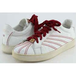 Louis Vuitton White Leather Sneakers