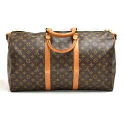 Vintage Louis Vuitton Keepall 50 Bandouliere Monogram Canvas Travel Bag LT656