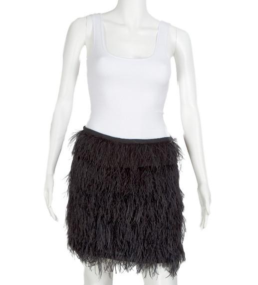 Michael Kors Ostrich Skirt