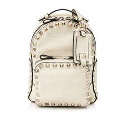 Pre-Owned Valentino Garavani Rockstud Small Backpack