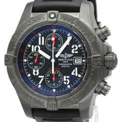 BREITLING Avenger Sky Land Steel Rubber Automatic Mens Watch M13380 BF521166