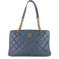CC Crown Medium Calfskin Tote Bag