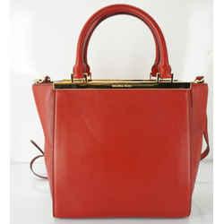 Michael Kors Leather Lana Medium Tote Bag $358 Crossbody Strap Purse Classic New