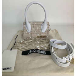 Nwt Jacquemus Mini Le Espelho Fringed Bag Sold Out Worldwide