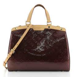 Brea Handbag Monogram Vernis Gm
