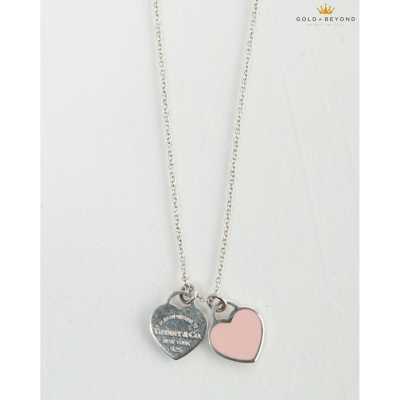 Tiffany And Co Return To Tiffany Mini Double Heart Tag Leprix