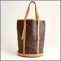 Rdc11405 Authentic Louis Vuitton Vintage Lv Monogram Bucket Gm Bag