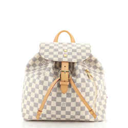 Sperone Backpack Damier