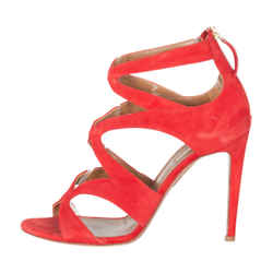 Aquazzura Melissa Suede Sandals