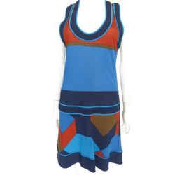 Marc By Marc Jacobs Multi-color Dropwaist Dress Sz Sm Eu 40