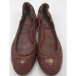 Tory Burch Size 9.5 Brown Flats