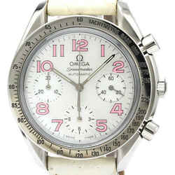 Polished OMEGA Speedmaster Reduced MOP Dial Automatic Watch 3834.74.34 BF515984