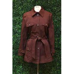 Escada Size 38/8 Dark Brown Jackets