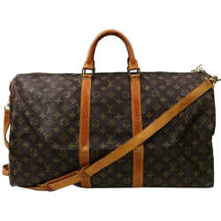 Louis Vuitton Monogram Keepall Bandouliere 55 Duffle Bag with Strap 862891