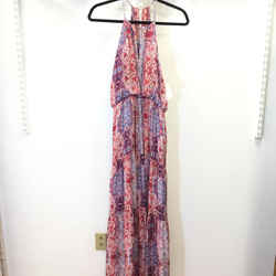 Women's Parker Halter Maxi Dress. Size S