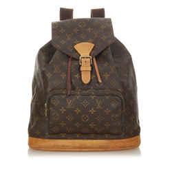 Brown Louis Vuitton Monogram Montsouris GM Bag
