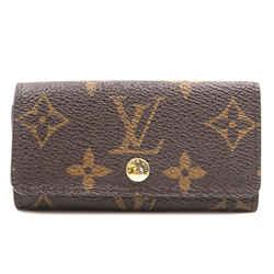 Louis Vuitton Monogram Trifold 4 Ring Key Holder
