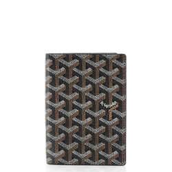 Vertical Bifold Wallet Coated Canvas Medium