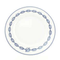 Chain D'Ancre Plate Porcelain