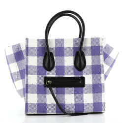 Phantom Bag Woven Gingham Medium