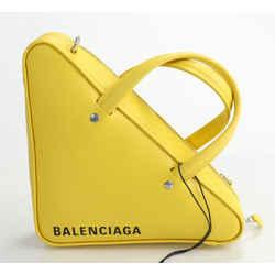 Balenciaga Triangle Duffle S Bag - Yellow