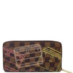 Louis Vuitton Trunks Damier Ebene Zippy Wallet Brown