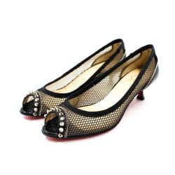 Louboutin Size 38/7.5 Shawnita 45 Kitten Heels