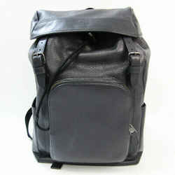 Coach Henry F72311 Men's Leather Backpack Dark Navy BF531136