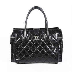 Chanel XL Executive Quilted Calfskin Shoulder Bag