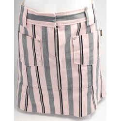 Louis Vuitton Striped Mini Skirt