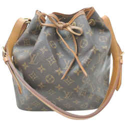 Louis Vuitton Monogram Petit Noe Drawsting Bucket Hobo Bag 862301