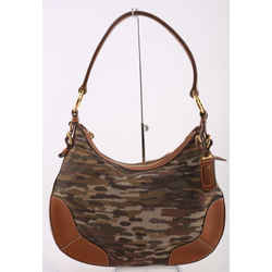 Prada Jacquard Camo Shoulder Bag