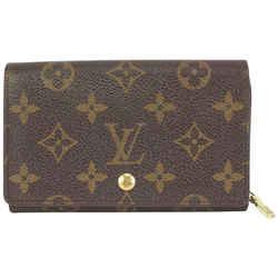 Louis Vuitton Monogram Compact Snap Zip Wallet 8lv721