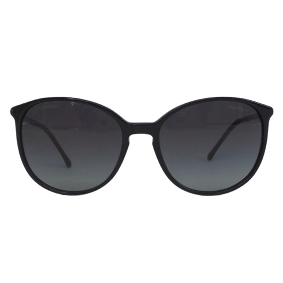 CHANEL<br>Black Butterfly Sunglasses