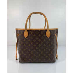 Louis Vuitton Monogram Neverfull Mm Tote Shoulder Handbag