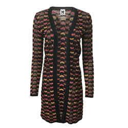 Missoni Tie Waist Cardigan Black / Pink Sweater