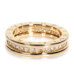 Bulgari B.zero1 Ring with Diamonds in 18K Yellow Gold 0.45 CTW