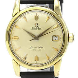 Vintage OMEGA Seamaster Calendar Cal 503 Gold Plated Mens Watch 2849 BF516579