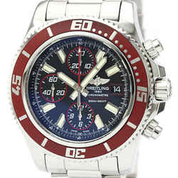 Polished BREITLING Super Ocean Chronograph Steel Automatic Watch A13341 BF518954