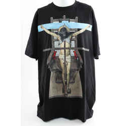 Givenchy Men's 'Christ Cruz' T-shirt