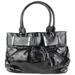 Burberry Black Patent Shoulder Bag 915bur70