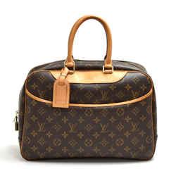 Louis Vuitton Deauville Monogram Canvas Handbag LT880