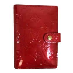 Louis Vuitton Vernis Red Agenda