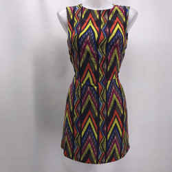 Missoni Purple Colorful Dress Medium