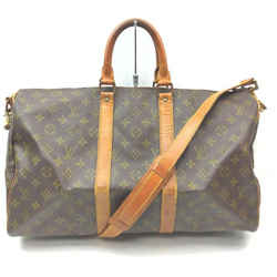 Louis Vuitton Monogram Keepall Bandouliere 45 Duffle Bag with Strap 862588